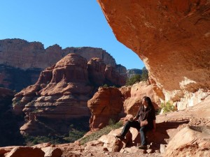 Sedona's Cave of First Woman